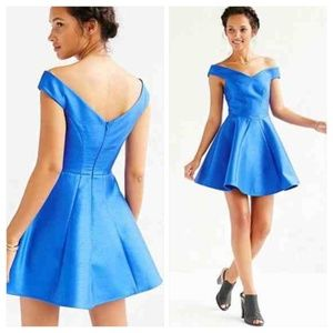 NWT Urban Outfitters X Cameo Blue Your Song Dress